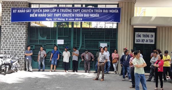 TPHCM công bố điểm trúng tuyển vào lớp 6 Trường Chuyên Trần Đại Nghĩa