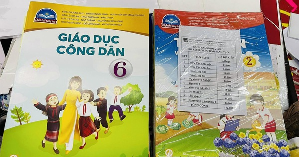 Sắp vào năm học, phụ huynh vẫn chưa mua được sách giáo khoa cho con