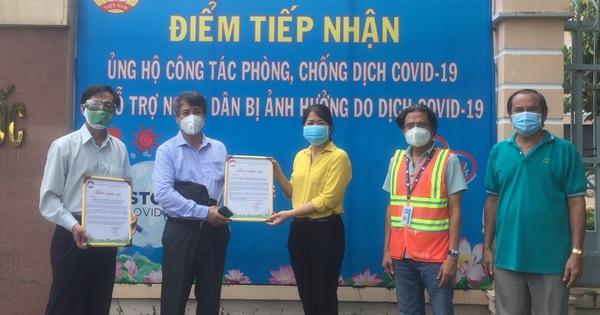 Hiệp hội Giáo dục nghề nghiệp và nghề công tác xã hội Việt Nam chung tay phòng chống dịch